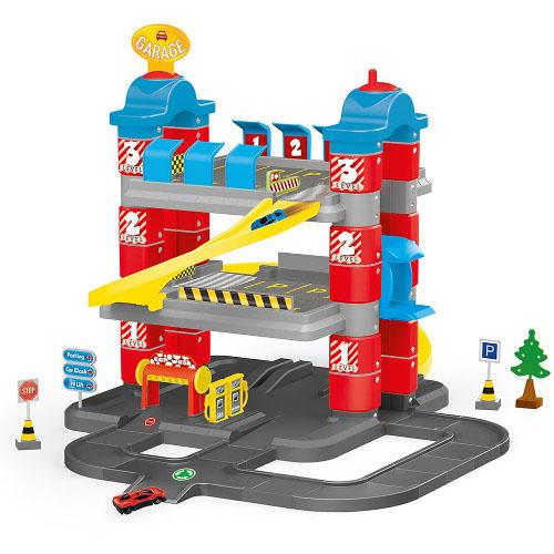Set de Constructie Garaj cu 3 Nivele, Dolu