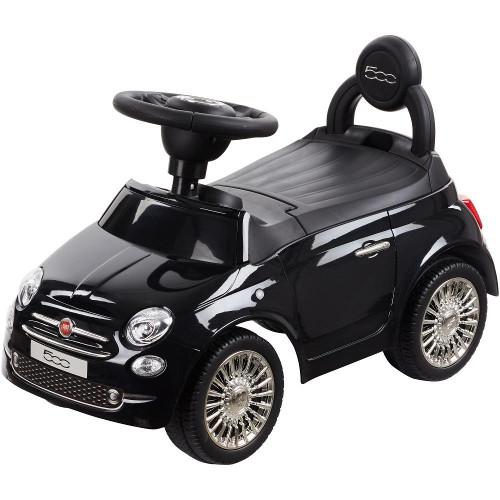 Masinuta fara Pedale Fiat 500 Vip Edition Neagra, Sun Baby
