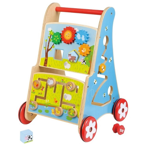 Premergator cu Activitati 7 in 1 Lelin, New Classic Toys