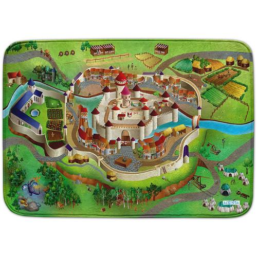Covoras de Joaca Ultra Soft Connect Castel 2018, 150 x 100 cm, House of Kids