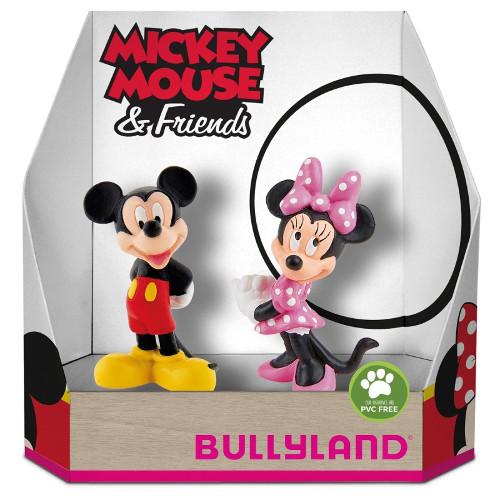 Set 2 Figurine Minnie si Mickey Mouse, Bullyland