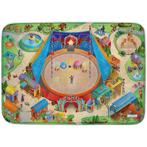 Covoras de Joaca Ultra Soft Connect Circul 2018, 150 x 100 cm, House of Kids