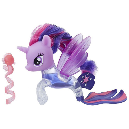 Figurina My Little Pony the Movie Twilight Sparkle Flip & Flow Seapony, Hasbro