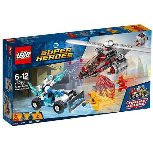 LEGO DC Comics Super Heroes Speed Force Freeze Pursuit 76098, LEGO