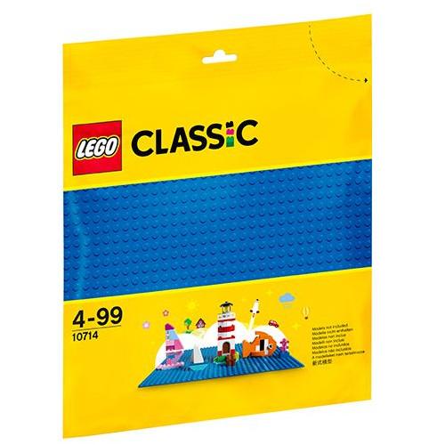 LEGO Classic Placa de Baza Albastra 10714, LEGO