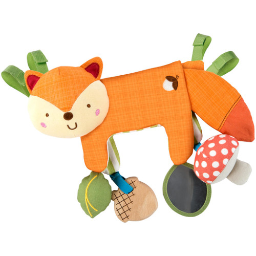 Jucarie Multifunctionala 2 in 1 Foxy Forest Toy Bar, Bright Starts