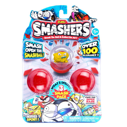 Set 3 Figurine in Mingiute Smashers, Zuru