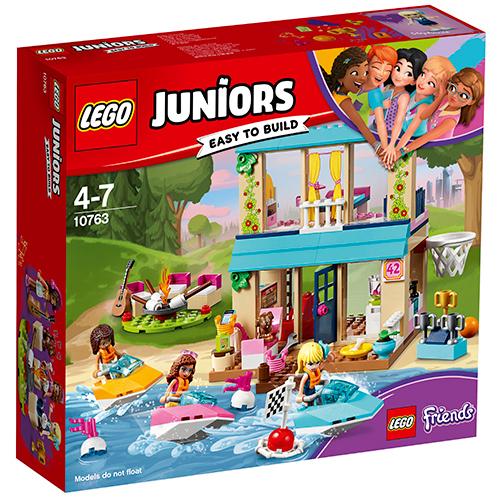 LEGO Juniors Casa lui Stephanie de Langa Lac 10763, LEGO