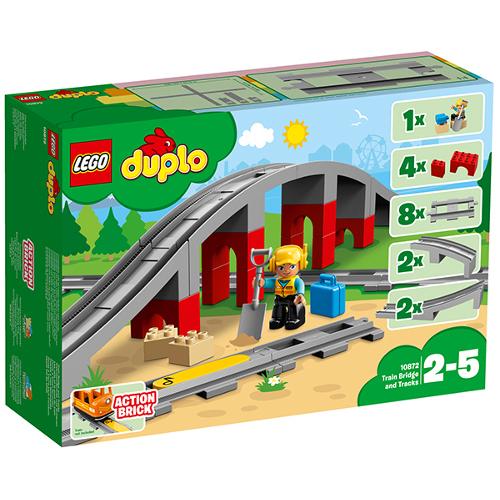 LEGO DUPLO Pod si Sine de Cale Ferata 10872, LEGO