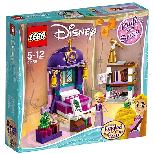 LEGO Disney Dormitorul din Castel al lui Rapunzel 41156, LEGO