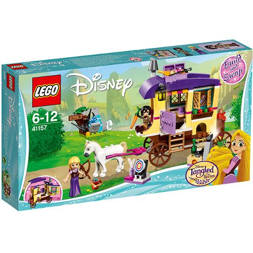 LEGO Disney Rulota de calatorii a lui Rapunzel 41157, LEGO