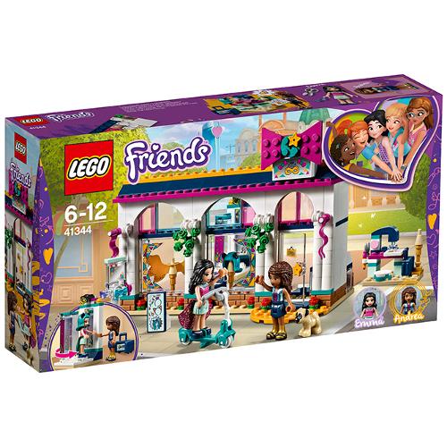 LEGO Friends Magazinul de Accesorii al Andreei 41344, LEGO