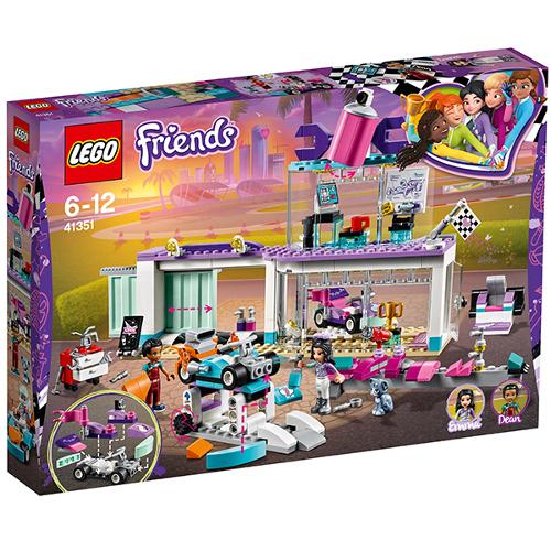 LEGO Friends Atelier Creativ de Tuning 41351, LEGO