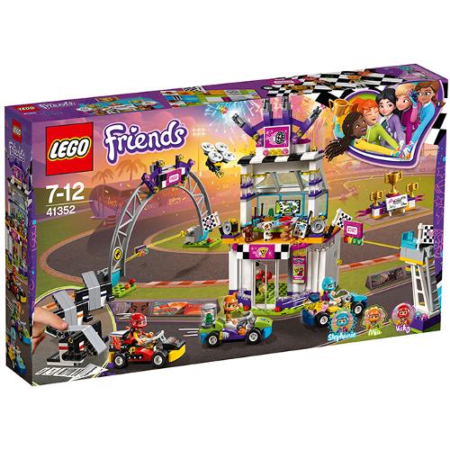 LEGO Friends Ziua cea Mare a Cursei 41352, LEGO