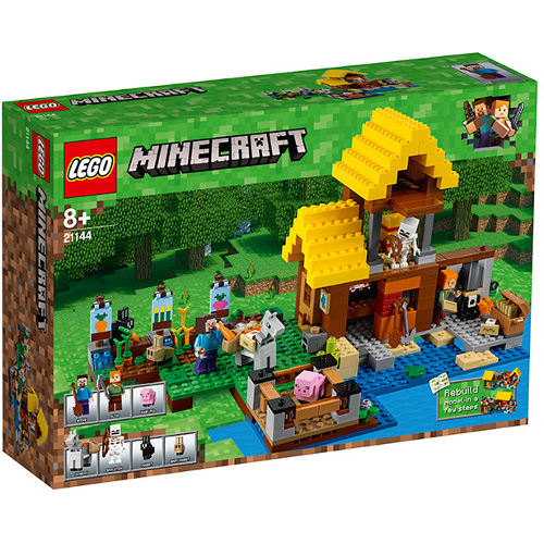 LEGO Minecraft Casuta de la Ferma 21144, LEGO