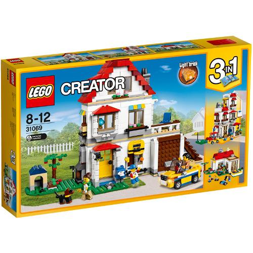 LEGO Creator Vila de Familie 31069, LEGO