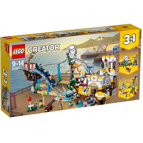 LEGO Creator Roller Coaster-ul Piratilor 31084, LEGO