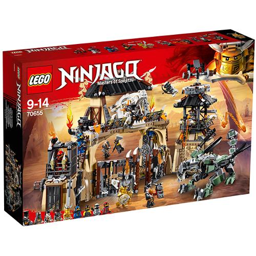 LEGO NINJAGO Groapa Dragonilor 70655, LEGO