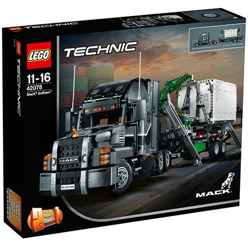 LEGO Technic Mack Anthem 42078, LEGO