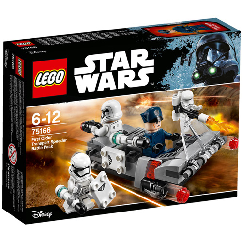 LEGO Star Wars Transportor de Viteza al Ordinului Intai 75166, LEGO
