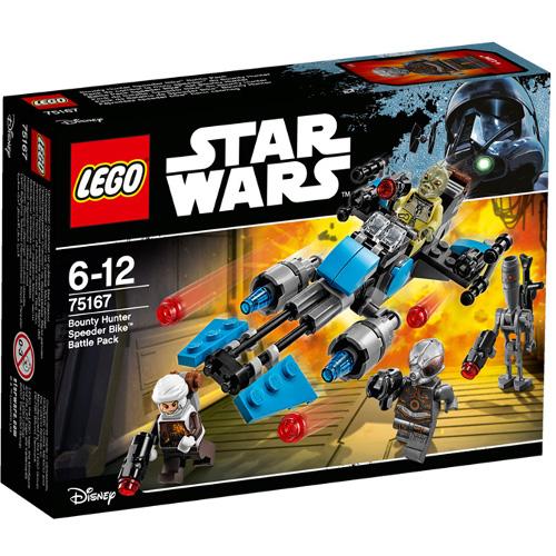 LEGO Star Wars Motocicleta de Viteza Bounty Hunter 75167, LEGO
