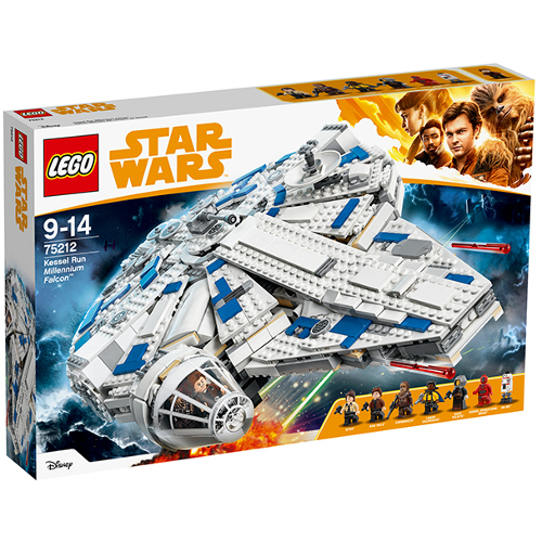 LEGO Star Wars Kessel Run Millennium Falcon 75212, LEGO