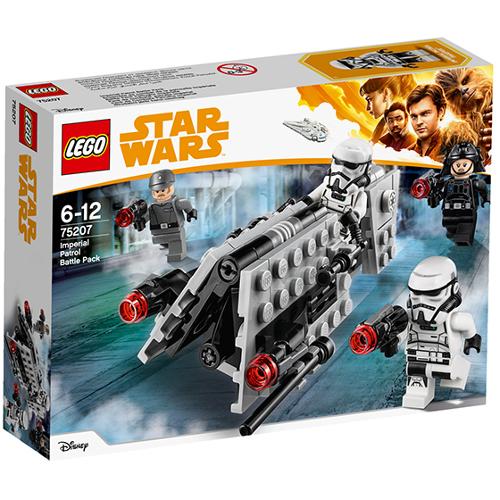LEGO Star Wars Pachet de Lupta Patrula Imperiala 75207, LEGO