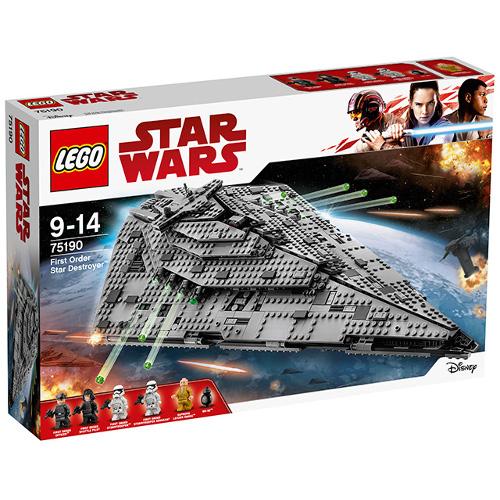 LEGO Star Wars Star Destroyer al Ordinului Intai 75190, LEGO