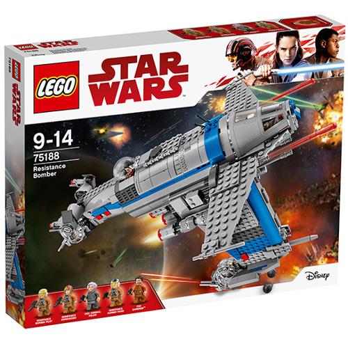 LEGO Star Wars Bombardier al Rezistentei 75188, LEGO