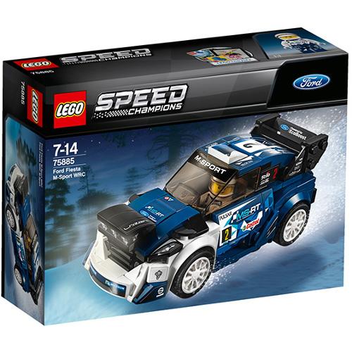LEGO Speed Champions Ford Fiesta M-Sport WRC 75885, LEGO