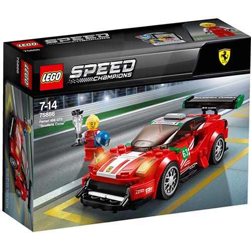 LEGO Speed Champions Ferrari 488 GT3 Scuderia Corsa 75886, LEGO