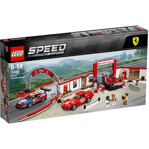 LEGO Speed Champions Garajul Suprem Ferrari 75889, LEGO