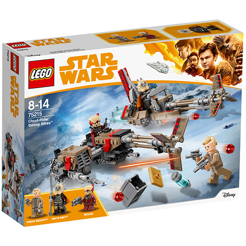 LEGO Star Wars Cloud-Rider Swoop Bikes 75215, LEGO
