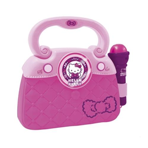 Geanta cu Microfon si Amplificator Hello Kitty , Reig Musicales