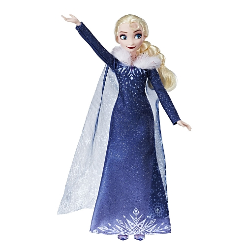 Papusa Elsa in Rochie de Iarna cu Blanita, Hasbro
