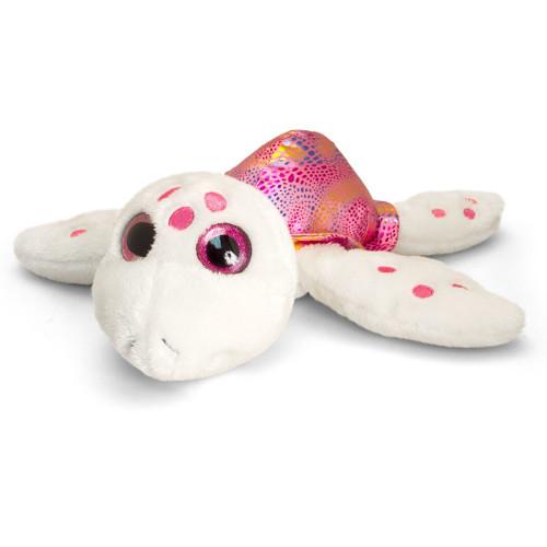 Broscuta Testoasa de Plus Roz Sparkle Eye 25 cm , Keel Toys