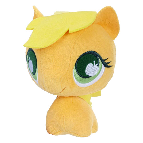 Jucarie de Plus Applejack cu Cap Mobil My Little Pony, Hasbro