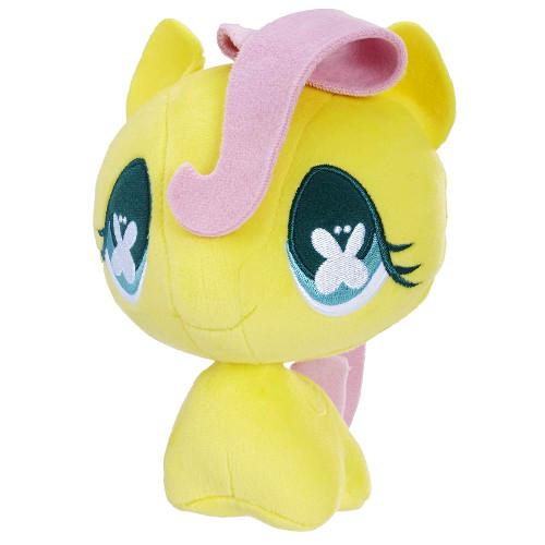 Jucarie de Plus Fluttershy cu Cap Mobil My Little Pony, Hasbro