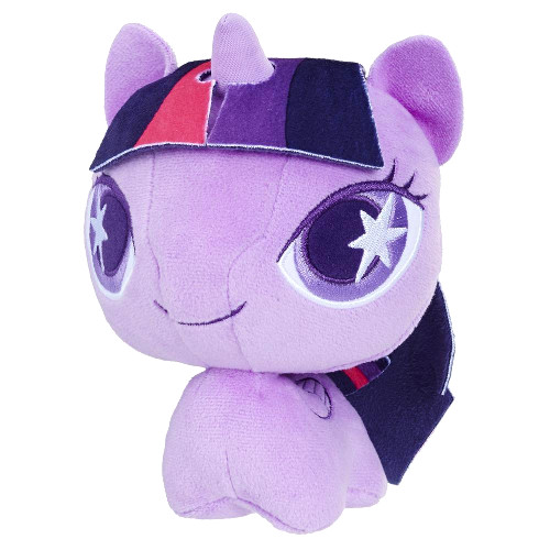 Jucarie de Plus Twilight Sparkle cu Cap Mobil My Little Pony, Hasbro