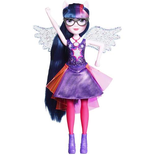 Papusa Twilight Sparkle cu Aripi, Colectia Equestria Girls Friendship Power, Hasbro