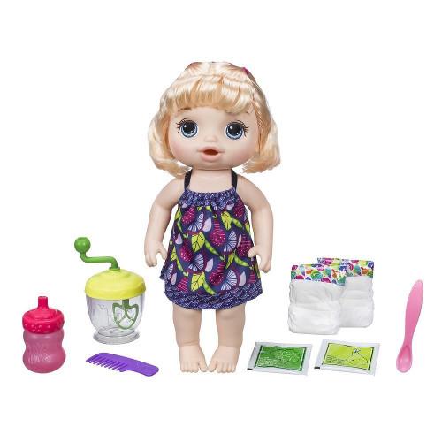 Papusa Bebelus Fetita Blonda Baby Alive Sweet Spoonfuls, Hasbro