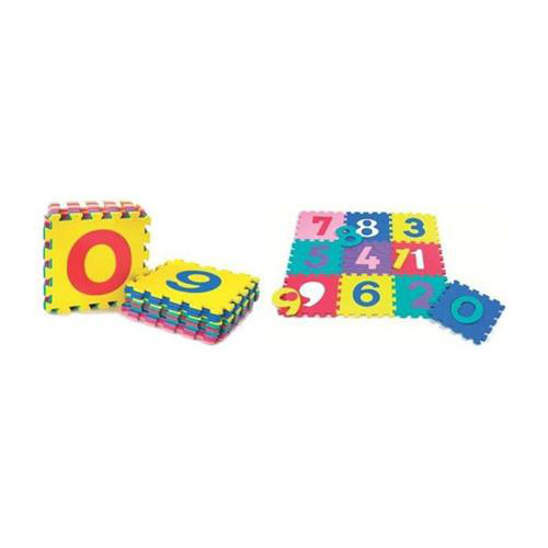 Salteluta De Joaca Cu Cifre Puzzle 10 Piese, BabyGo
