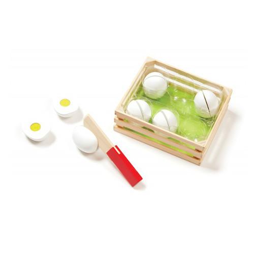 Joc de Sortat din Lemn Eggs , Melissa & Doug