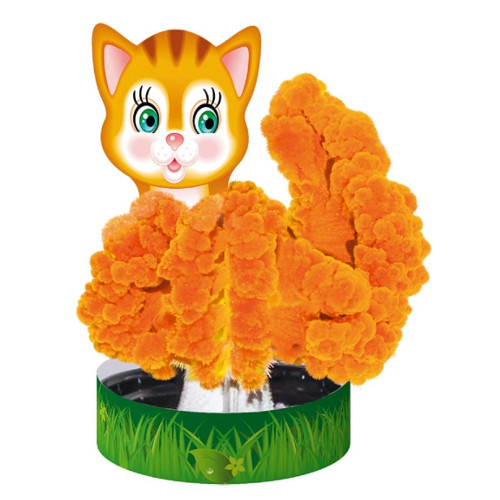 Set Educativ Cristale care Cresc - Pisica, Ranok