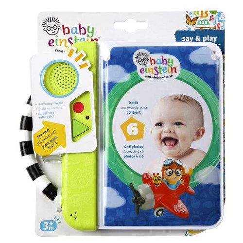 Carticica Say & Play Photobook Baby Einstein, Bright Starts