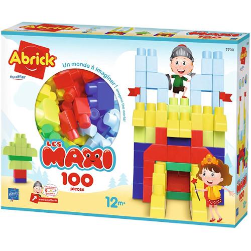 Set 100 Cuburi Colorate Abrick, Ecoiffier