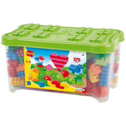 Set 275 de Cuburi pentru Construit Abrick, Ecoiffier