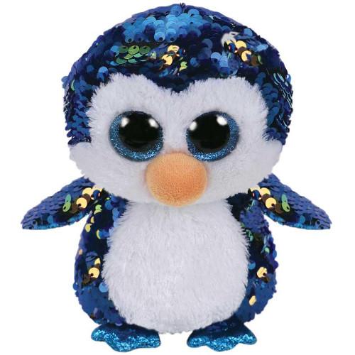 Plus cu Paiete Pinguinul Payton 15 cm, Ty