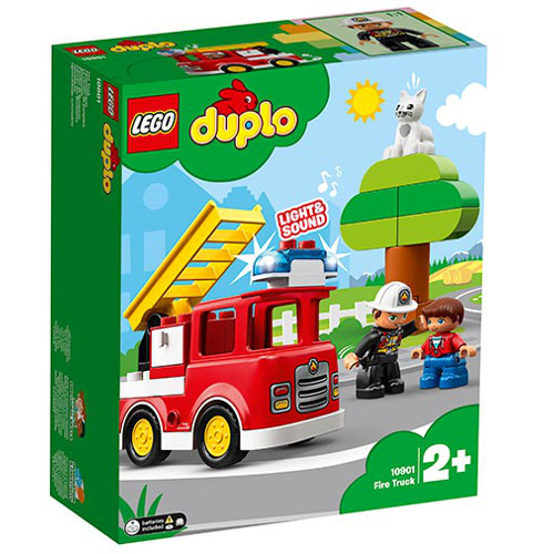 LEGO DUPLO Camion de Pompieri 10901, LEGO