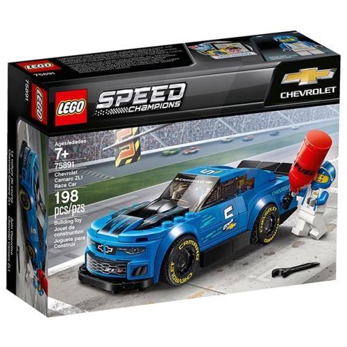 LEGO Speed Champions Masina de Curse Chevrolet Camaro ZL1 75891, LEGO